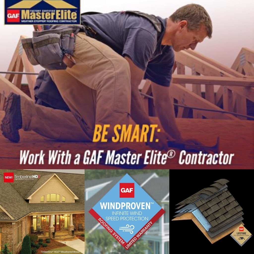 Things To Know Before You Replace The Roof and the reason to use a Master Elite Roofing Contractor